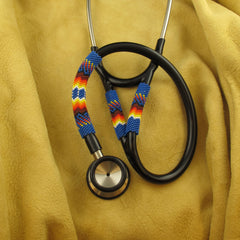 Blue Beaded Stethoscope