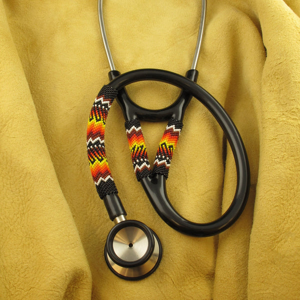 Black Beaded Stethoscope