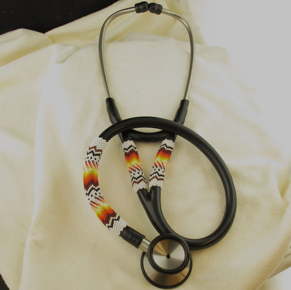 White Beaded Stethoscope