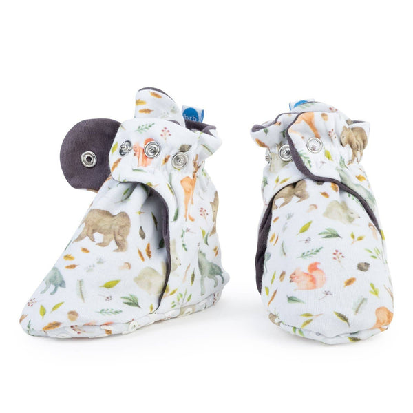BirdRock Baby - Yellowstone Lightweight Organic Cotton Baby Booties