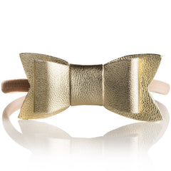 BirdRock Baby - Gold Baby Bow Headbands