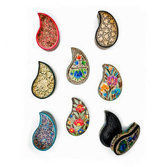 Matr Boomie - Paradise Paisley Box - Assorted (Set of 8)