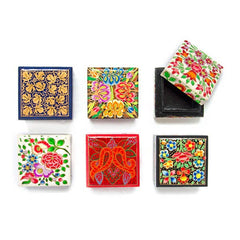 Matr Boomie - Paradise Mini Square Boxes - Assorted