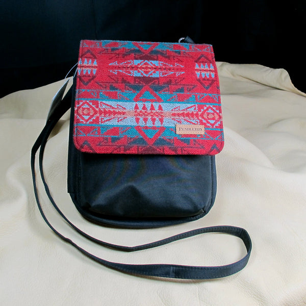 Pendleton Red Native Design Crossbody Purse