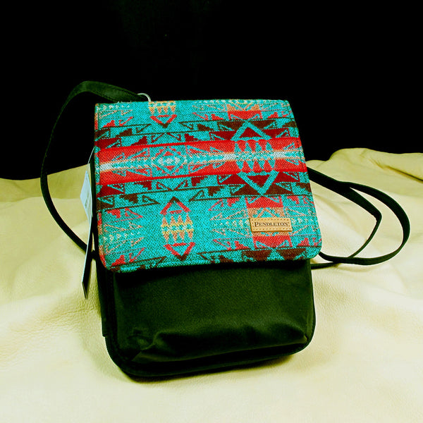 Pendleton Small Teal Crossbody Purse