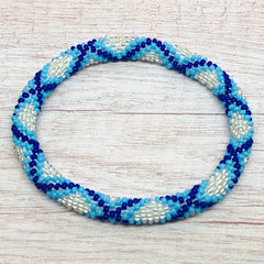 Liftedhope Bracelets - Silver Blues