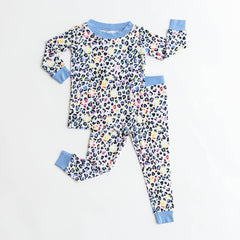 Little Sleepies - Leopard Love bamboo two-piece pajama set