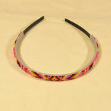 Pink Beaded Head Band