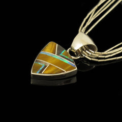 Native Made Tigers Eye Pendant