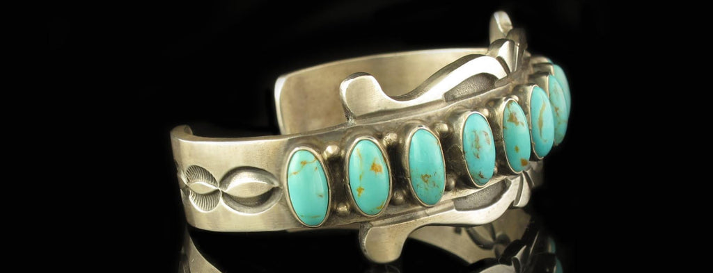 Turquoise Navajo Made Bracelet