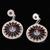 Sun Face Earrings