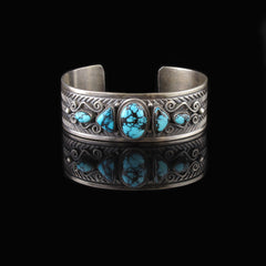Hand Crafted Turquoise Bracelet