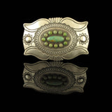 Native Made Turquoise Belt Buckle