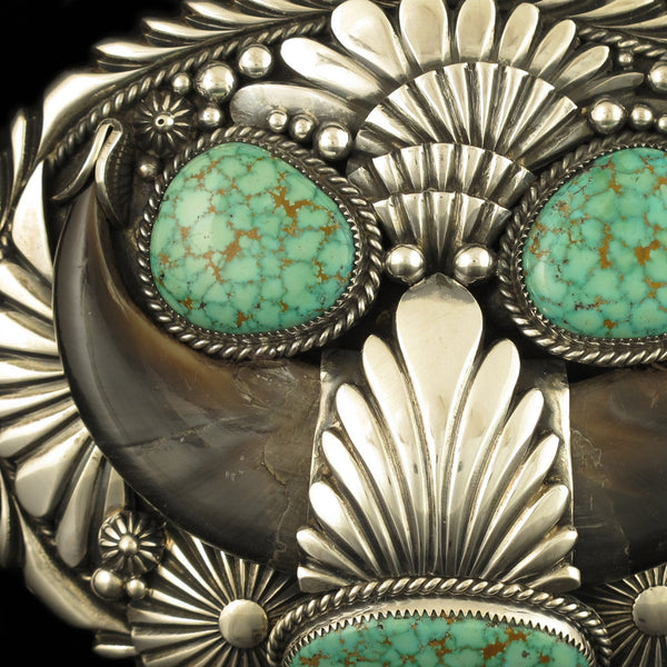 Turquoise Mountain Belt Buckle