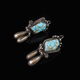 Hand Crafted Turquoise Earrings