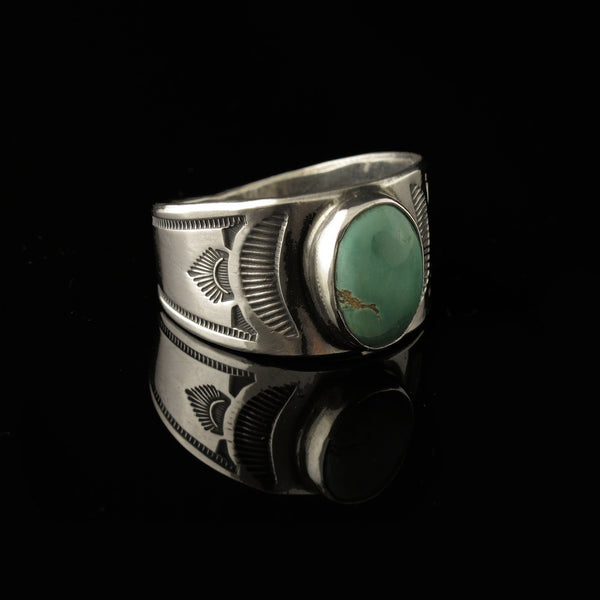 Navajo Turquoise Mens Ring