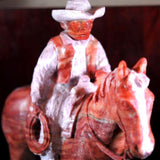 """Rider Brown"" Sculpture"