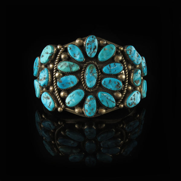 Vintage Traditional Turquoise Bracelet
