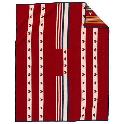Grateful Nation Pendleton Blanket Red
