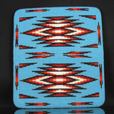 Turquoise Beaded Checkbook Cover