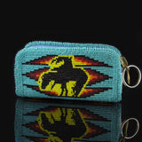 Horse and Rider Coin Purse