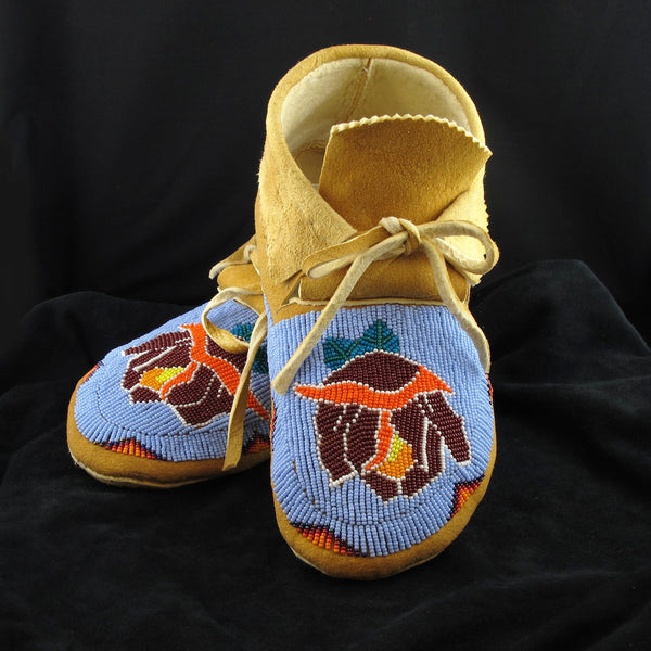 Rose Design Moccasins