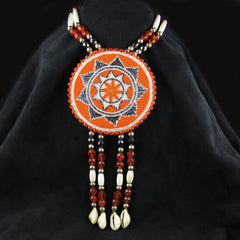 Star Design Beaded Necklace