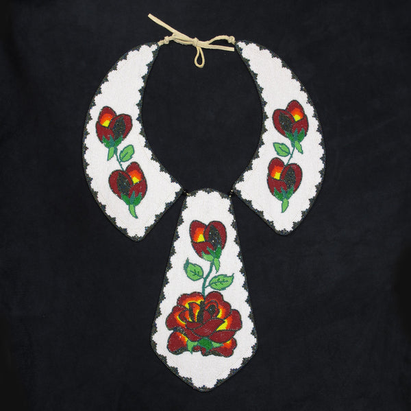 Native American Beaded Necktie