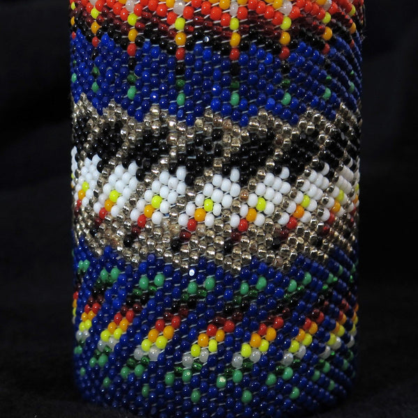 Beaded Medicine Bottle