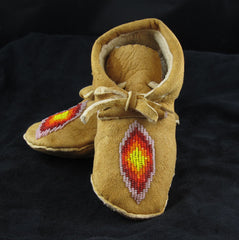 Geometric Baby Moccasins