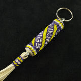 Vikings Beaded Keychain