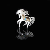 Picture Jasper Pony Pin