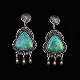 Native Made Turquoise Earrings