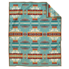 Chief Joseph Pendleton Blanket Aqua