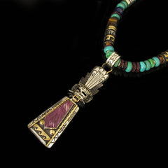 Navajo Sugalite Necklace