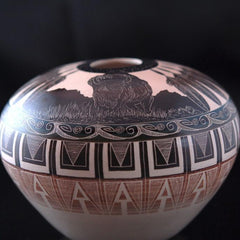 """West Thunder"" Norman Lansing Pottery"