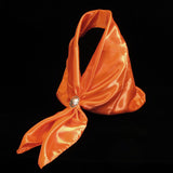 Satin Scarf Orange