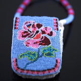 Beaded Rose Cellphone Holder/Pouch
