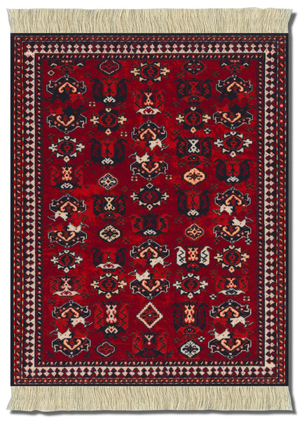 Mouse Rug Early Turkmen