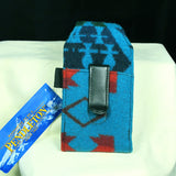 Pendleton Teal Cell Phone Case