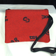 Pendleton Small Red Pouch / Clutch