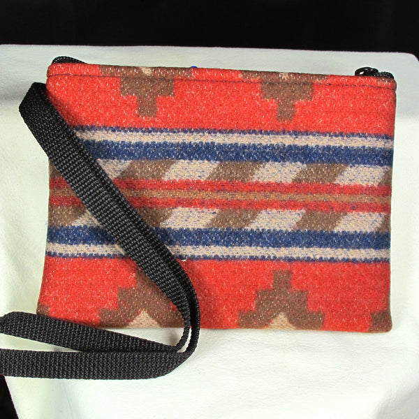 Pendleton Wristlets Clutch Red