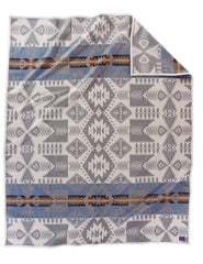 Silver Bark Pendleton Blanket Gray