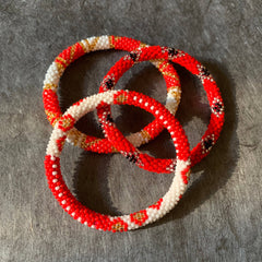 Liftedhope Bracelets - Set of 3 Reds