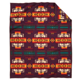 Chief Joseph Pendleton Blanket Maroon