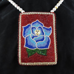 Rose Pouch/Necklace