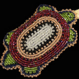 Multi-Color Beaded Turtle