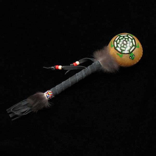 Hand Made Turtle Rattle