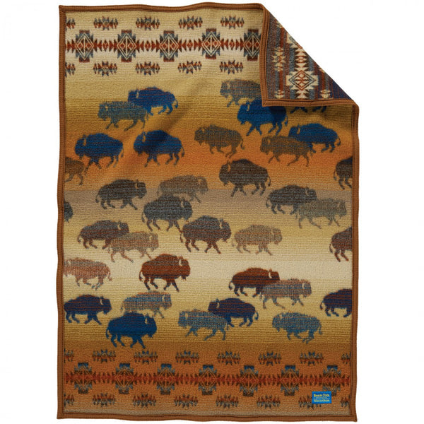 Prairie Rush Hour Crib Pendleton Blanket