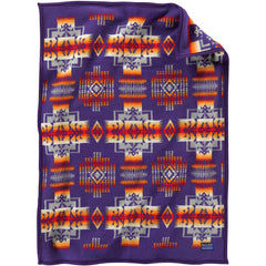 Chief Joseph Muchacho Pendleton Baby Blanket Purple